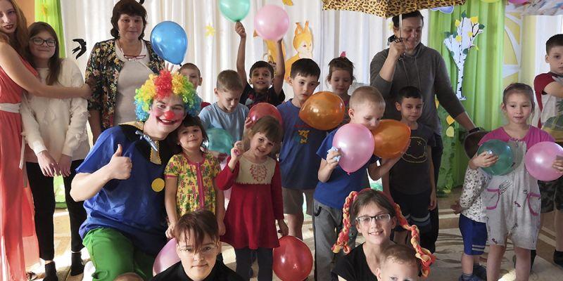Развлекательная программа «Золотая осень с клоуном»